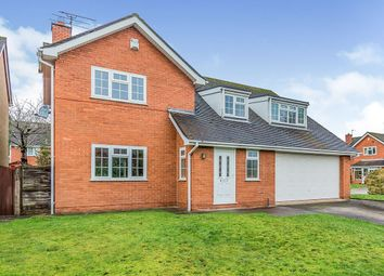 Thumbnail Detached house for sale in Elmore Close, Holmes Chapel, Crewe, Cheshire