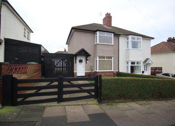 Thumbnail 2 bed semi-detached house for sale in Hillcrest Avenue, Carlisle, Cumbria