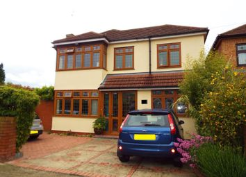 Thumbnail 4 bed detached house for sale in Albany Road, Hornchurch