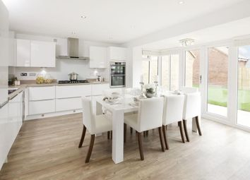 "Thumbnail 4 bed detached house for sale in ""Exeter"" at Llantrisant Road, Capel Llanilltern, Cardiff"