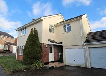 Thumbnail 4 bedroom link-detached house for sale in Treverbyn Road, Goldenbank, Falmouth