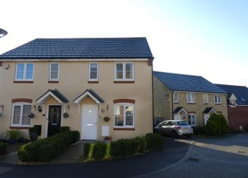 Thumbnail 2 bed semi-detached house for sale in Fontmell Close, Swindon