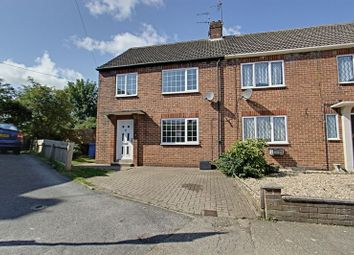 Thumbnail 3 bed end terrace house for sale in St. Lawrence Square, Sigglesthorne, Hull
