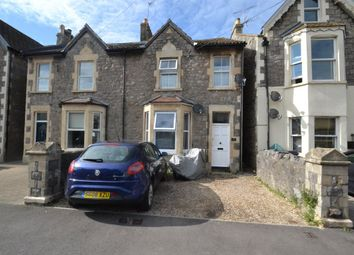 Thumbnail 1 bed flat to rent in Moorland Road, Weston-Super-Mare