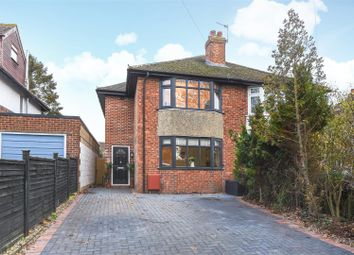 Thumbnail 4 bedroom semi-detached house for sale in Delbush Avenue, Headington, Oxford