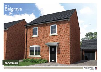 Thumbnail 3 bed detached house for sale in The Belgrave, Grove Farm, Doncaster