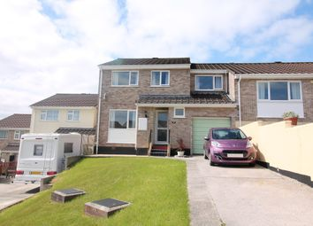Thumbnail 4 bed semi-detached house for sale in Rashleigh Avenue, Plympton, Plymouth