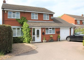 Thumbnail 4 bed detached house for sale in Hermitage Road, Whitwick, Coalville
