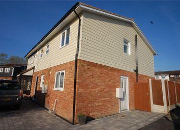 Thumbnail 2 bedroom end terrace house for sale in Voysey Gardens, Basildon, Essex