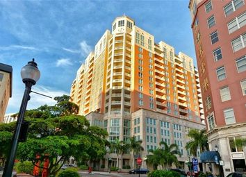 Thumbnail 2 bed town house for sale in 1350 Main St #1007, Sarasota, Florida, 34236, United States Of America