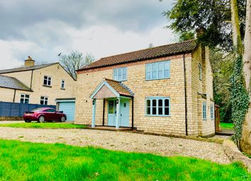 Thumbnail 4 bed detached house to rent in Chapel Lane, Harmston, Lincoln