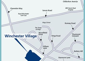 "Thumbnail 1 bed property for sale in ""The Bingley"" at Pitt Road, Winchester"