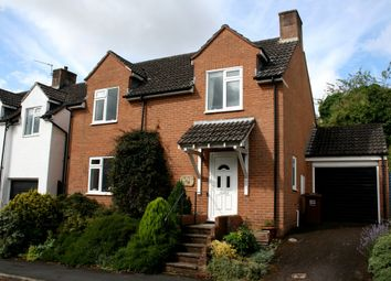 Thumbnail 3 bed detached house for sale in The Glebe, Thorverton, Exeter