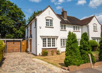 Thumbnail 3 bed semi-detached house for sale in Grimsdyke Road, Pinner, Middlesex