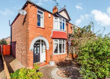 Thumbnail 3 bed semi-detached house for sale in Sandringham Road, Town Moor, Doncaster