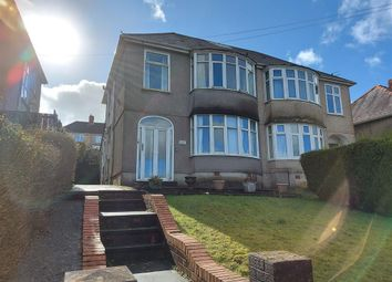 Thumbnail 3 bed property to rent in Gwynedd Avenue, Cockett, Swansea