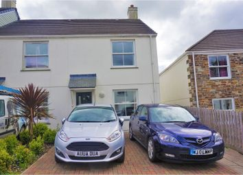 Thumbnail 2 bedroom semi-detached house for sale in Wentworth Close, Redruth