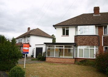 Thumbnail 3 bed semi-detached house to rent in Willett Way, Petts Wood, Orpington