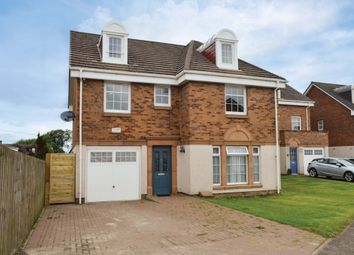 Thumbnail 5 bed detached house for sale in Provost Crescent, Netherburn, Lanarkshire