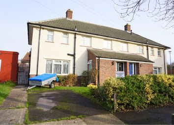 Thumbnail 3 bed semi-detached house for sale in Stares Close, Gosport
