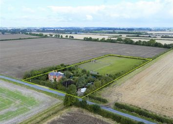 Thumbnail 4 bed equestrian property for sale in Fen Road, Owmby By Spital
