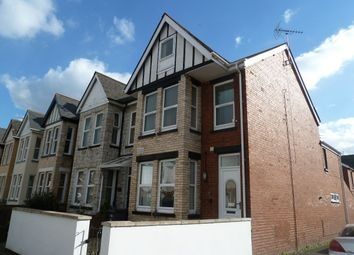 Thumbnail 3 bed maisonette for sale in Woodville Road, Exmouth