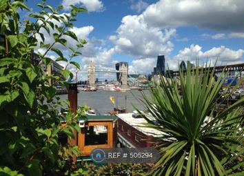 Thumbnail 1 bed houseboat to rent in Mill Street, London