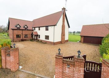 Thumbnail 5 bed detached house for sale in The Close, Kings Head Lane, North Lopham, Diss