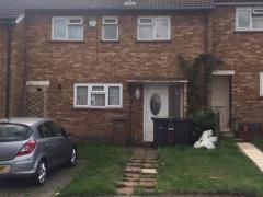 Thumbnail 3 bed terraced house to rent in Parys Road, Luton