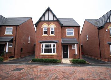 Thumbnail 4 bed detached house for sale in Bernard Vann Crescent, Ashby-De-La-Zouch