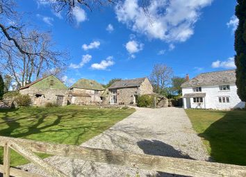 Thumbnail 4 bed cottage for sale in Lower Corndon Farm Cottage, Corndon, Chagford