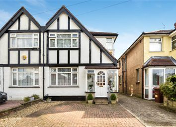 Thumbnail 3 bed semi-detached house for sale in Chatsworth Gardens, Harrow, Middlesex