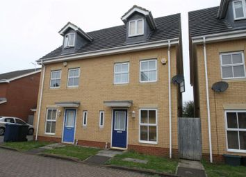 Thumbnail 3 bed semi-detached house to rent in Hodges Mews, High Wycombe