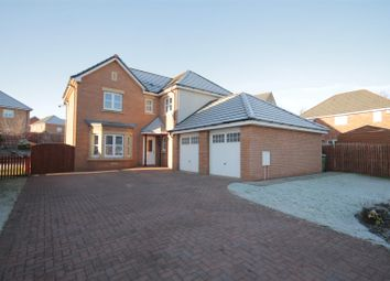 Thumbnail 4 bedroom detached house for sale in Broomhouse Crescent, Uddingston, Glasgow