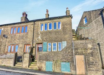 Thumbnail 1 bed terraced house for sale in Luddendenfoot, Halifax