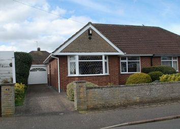 Thumbnail 2 bedroom semi-detached bungalow for sale in Muscott Lane, Duston, Northampton