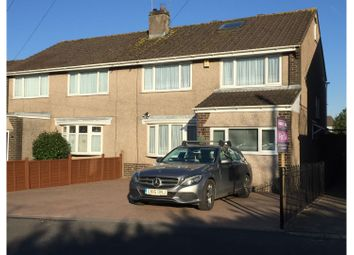 Thumbnail 4 bed semi-detached house for sale in Traston Close, Newport