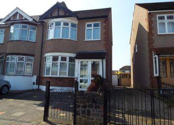 Thumbnail 3 bed end terrace house for sale in Newbury Park, Ilford, Essex