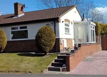 Thumbnail 1 bed semi-detached bungalow for sale in Amberwood, Swadlincote