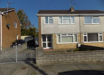 Thumbnail 3 bed semi-detached house for sale in Maes Y Wern, Pencoed, Bridgend.