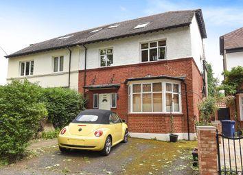 Thumbnail 3 bed flat for sale in Heathfield Road, London