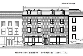Land for sale in Penryn Street, Redruth TR15