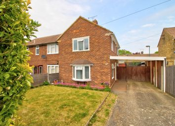 Thumbnail 2 bed semi-detached house for sale in Crundale Road, Gillingham