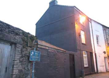 Thumbnail 1 bed end terrace house for sale in 8 Lower Brook Street, Ulverston, Cumbria