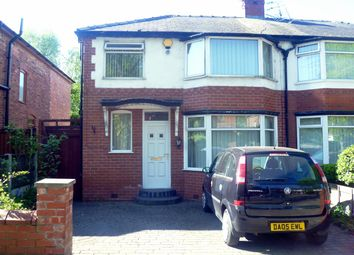 Thumbnail 3 bedroom semi-detached house to rent in Swinton Park Road, Salford