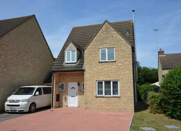Thumbnail 4 bed link-detached house for sale in Perrinsfield, Lechlade, Gloucestershire
