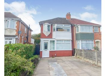 Thumbnail 2 bed semi-detached house for sale in Parkdale Road, Birmingham
