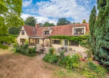 Thumbnail 4 bed detached house for sale in Twinstead, Sudbury, Suffolk