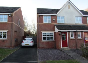 Thumbnail 2 bed semi-detached house to rent in Checkley Close, Shirley, Solihull