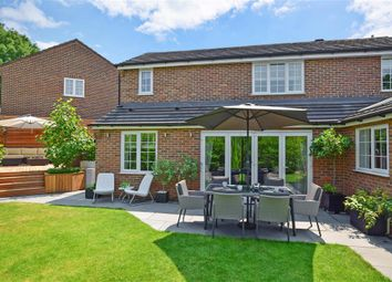 Thumbnail 4 bed detached house for sale in Copse Hill, Leybourne, West Malling, Kent